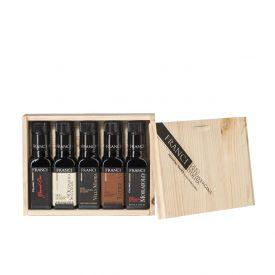 astuccio-regalo-olio-extravergine-toscano-franci-5X100-ml