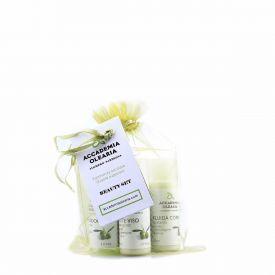 Beauty Set Cosmetici A Base Di Olio Extravergine Dop Accademia Olearia Sardegna 4 x 30 ML