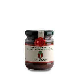Pate' Di Olive Nere Leccino Pasta Spalmabile Di Olive Marina Colonna Molise 200 GR