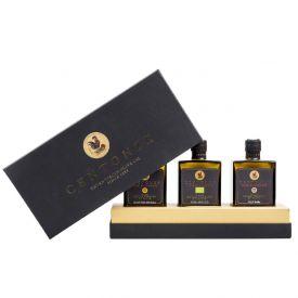 Cofanetto regalo olio extravergine di oliva siciliano