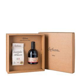 confezione-regalo-olio-extravergine-e-lenticchie-sabino-leone-puglia