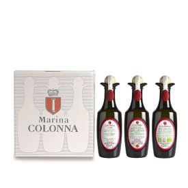 Confezione regalo oli del Molise  Marina Colonna 3 x 250 ML - Molise  OlivYou