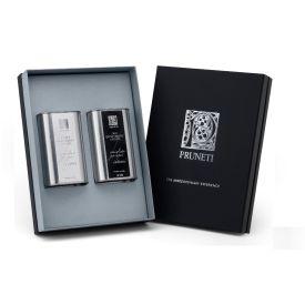 Black & White Confezione regalo olio extravergine di oliva Pruneti Toscana 2 x 250 ML