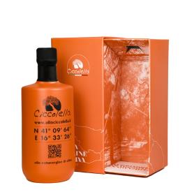 Confezione Regalo Olio extravergine di oliva Orange Cru Ciccolella 500 ML (2)