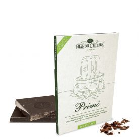 """Cioccolato Di Modica """"Primo"""" 80% Cioccolato Di Modica Bio E Olio Bio E Sale Di Trapani Frantoi Cutrera Sicilia 50 GR"""