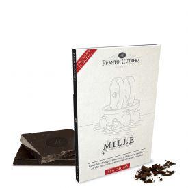 """Cioccolato Di Modica """"Primo"""" 95% Cioccolato Di Modica Bio E Olio Mille Frantoi Cutrera Sicilia 50 GR"""