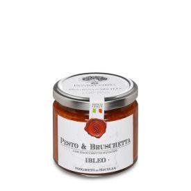 Pesto & Bruschetta Ibleo Pesto Frantoi Cutrera Sicilia 190 GR