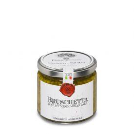Pate' Di Olive Verdi Nocellara Pasta Spalmabile Di Olive Frantoi Cutrera Sicilia 190 GR
