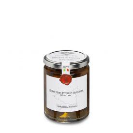 Olive Nere Nocellara Belice Naturali Conserva di oliva in salamoia Frantoi Cutrera Sicilia 290 GR