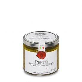 Pesto Di Pistacchio E Mandorla Pesto Frantoi Cutrera Sicilia 190 GR
