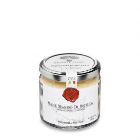Sale All'Arancia Sale Marino Di Sicilia Aromatizzato Frantoi Cutrera Sicilia 200 GR