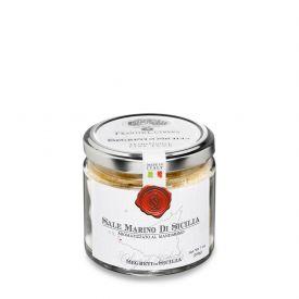 Sale Al Mandarino Sale Marino Di Sicilia Aromatizzato Frantoi Cutrera Sicilia 200 GR