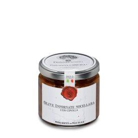 Olive Nere Infornate Con Cipolla Olive Condite Frantoi Cutrera Sicilia 200 GR