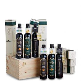 Collezione De Carlo Confezione regalo olio extravergine di oliva De Carlo Puglia 500 ML
