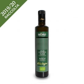 Olio extravergine di oliva Il Biologico 500 ML De Carlo Puglia