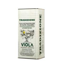 olio extravergine di oliva tradizione Viola 5 LT
