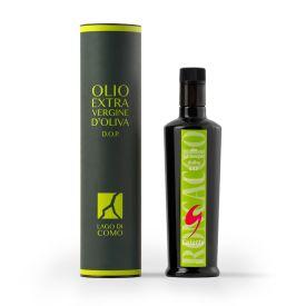 Olio extravergine di oliva Roncaccio Gaiatto Dop Laghi Lombardi 500 ML confezione regalo con astuccio