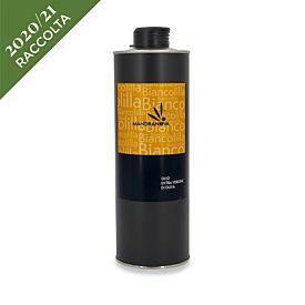 Olio extravergine di oliva sicliano Biancolilla Mandranova