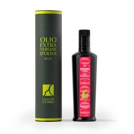 Confezione regalo con stuccio Olio extravergine di oliva Tondello Gaiatto Dop Laghi lombardi 500 ML