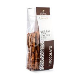 Grissini Al Cioccolato Grissini All'Olio Extravergine E Cioccolato Olearia San Giorgio Calabria 200 GR