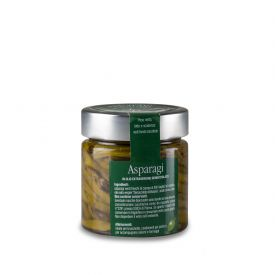 Asparagi Verdi Conserva di verdure sottolio Fratelli Pinna Sardegna 212 ML