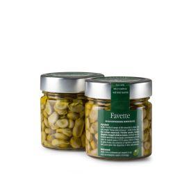 Favette Conserva di verdure sottolio Fratelli Pinna Sardegna 212 ML