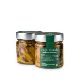 Funghi Cardoncello Conserva di verdure sottolio Fratelli Pinna Sardegna 212 ML