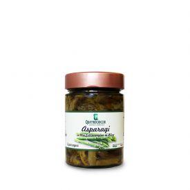 Asparagi Conserva di verdure sottolio Quattrociocchi Lazio 320 GR