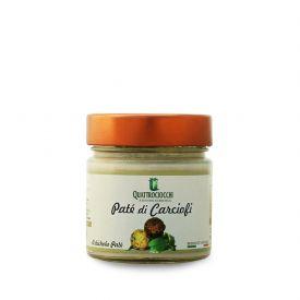 Pate' Di Carciofi Crema spalmabile di verdure Quattrociocchi Lazio 190 GR