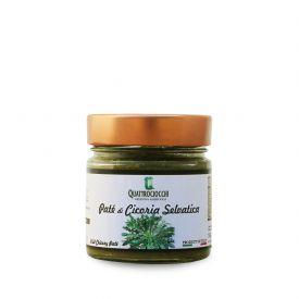 Pate' Di Cicoria Selvatica Crema spalmabile di verdure Quattrociocchi Lazio 190 GR