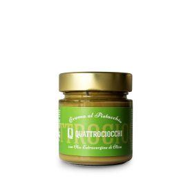 Crema Al Pistacchio Crema spalmabile dolce al pistacchio Quattrociocchi Lazio 250 GR