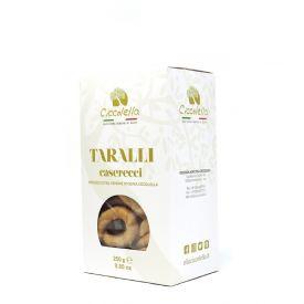 Taralli pugliesi all'olio extravergine di oliva Ciccolella 250 Gr