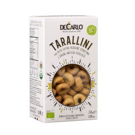 Tarallini pugliesi bio all'olio extravergine di oliva