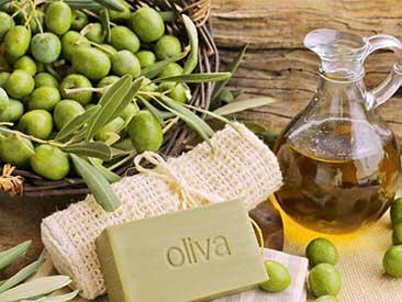 Cosmetici a base di olio di oliva